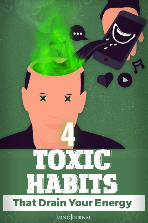 Toxic Habits pin