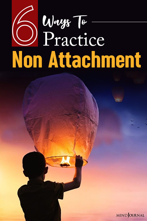 Ways Practice Non-Attachment pin