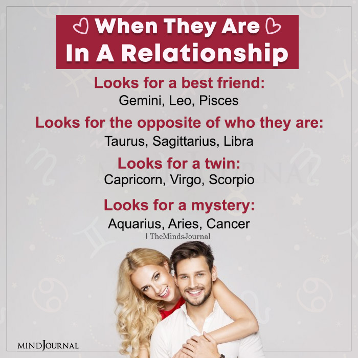 When Zodiac Signs Are In a Relationship