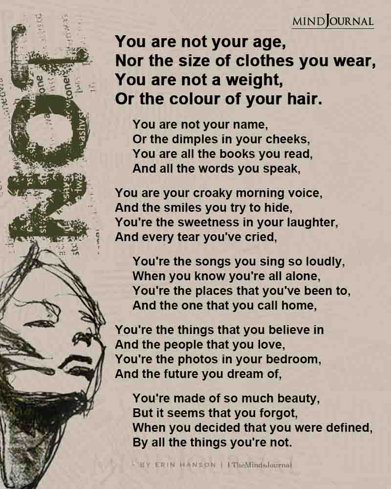 You Are Not Your Age